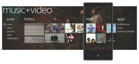 Music&Pictures-Hub in WP7