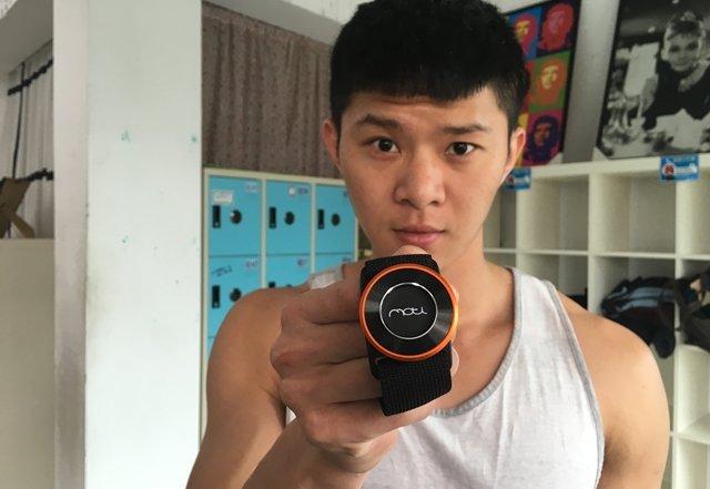 穿戴裝置新體驗─MOTi健身紀錄器
