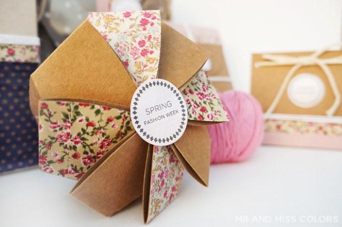 cajas de carton para regalos handmade o para un evento