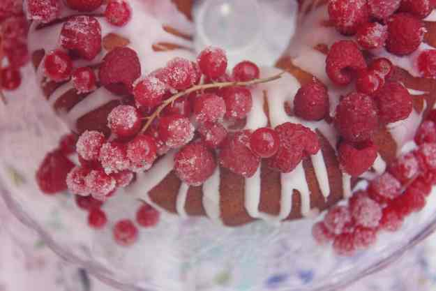 how to make sugared raspberries