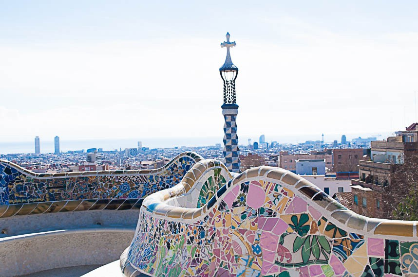Parque Guell by mrandmslemon