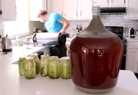 Making_Saison_and_Pickles