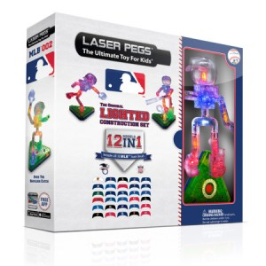 laser pegs 12-in-1 MLB