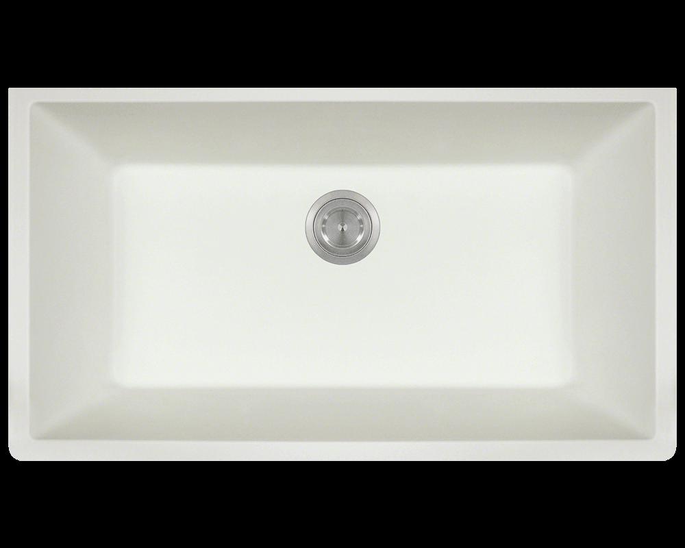 white large single bowl undermount trugranite kitchen sink white kitchen sink undermount