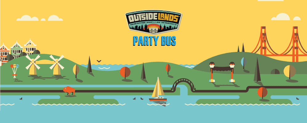 Outside Lands Party Bus (Hotel G Pickup)