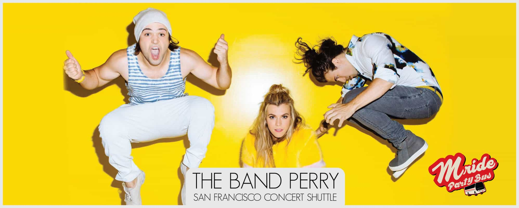 San Francisco Party Bus – The Band Perry