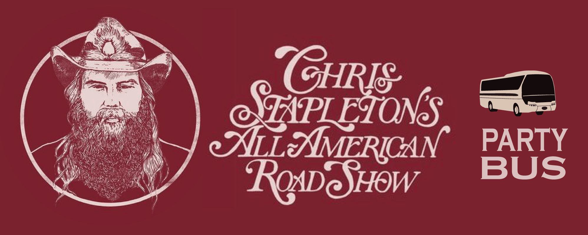 Chris Stapleton Party Bus