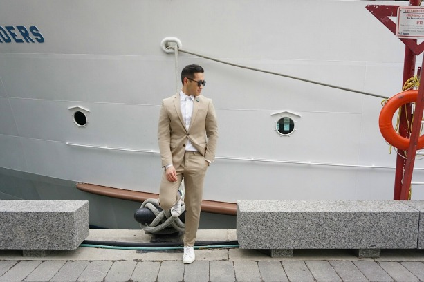 How to Dress for Valentine's Day Lance Chung Express Feature