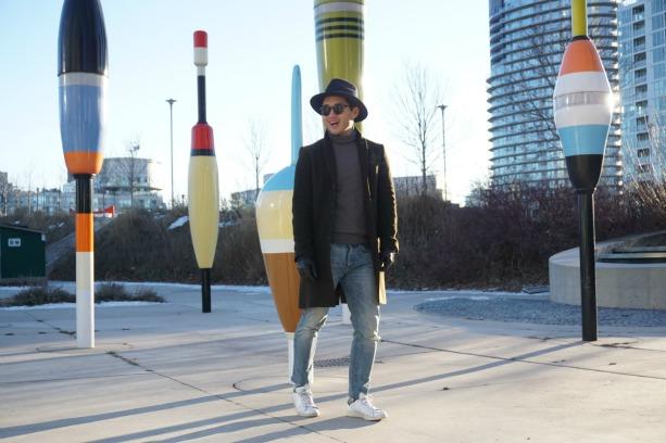 Lance Chung Express Denim Jeans feature