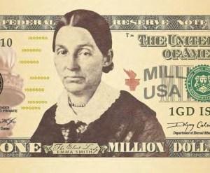 Million Dollar Bill Emma Smith front bill
