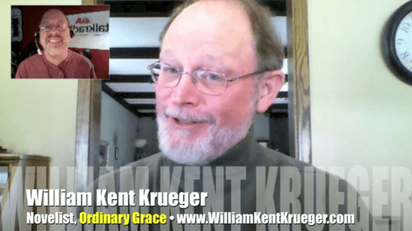 William Kent Krueger, author, Ordinary Grace, Mr. Media interview