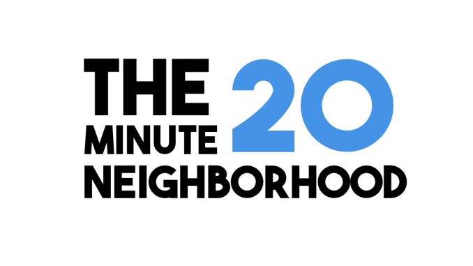 The 20-minute neighborhood