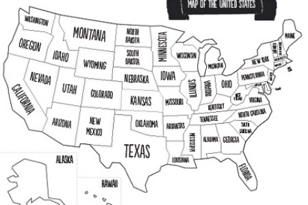 printable map of the usa | mr printables