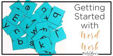 Word Work is an importance part of the balanced literacy approach to reading. See how this teacher does word study in her kindergarten and first grade classroom, see her favorite resources, and grab the freebie!