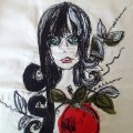 Nicola Elliott - Snow White - Free Machine Embroidery