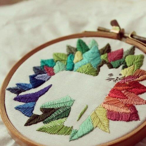 Bugambilö - Galatea - Hand Embroidery