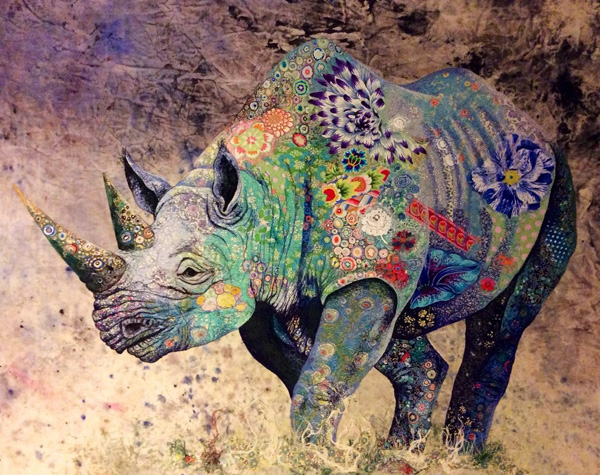 sophiestandingblackrhino