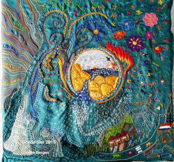 Marjolein van Vessem's Hand Embroidery