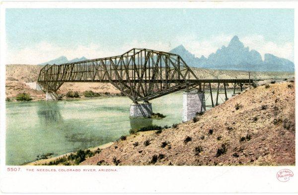 Railroad bridge, Topock Arizona