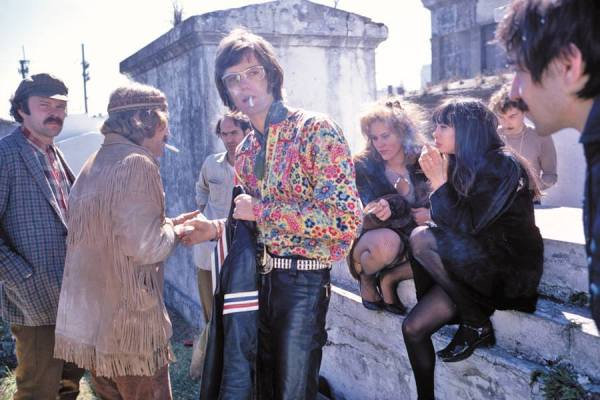 Filming Easy Rider, St Louis Cemetery #1