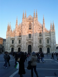 Milan's Duomo in January