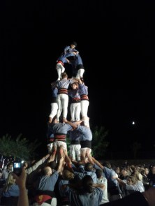 Human tower in Girona, Spain