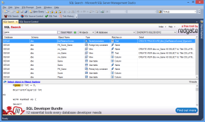 SQL Search - Searching on a SQL Server instance