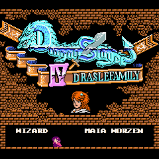 Dragon Slayer IV - Drasle Family (MSX2)