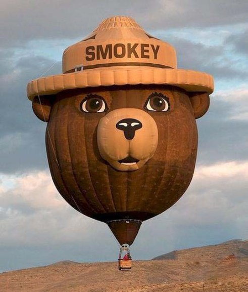 Smokey balloon