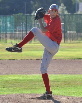 Post 119 Pitcher.  Democrat photo by Pat Dollins