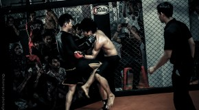 Muay Chaiya in MMA : War in the Cage 4