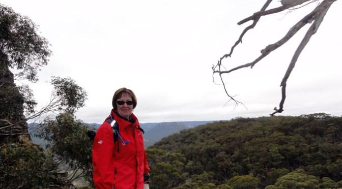 Jane exploring the area around Cape Horn.