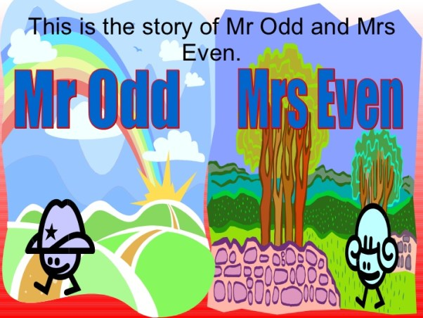 Odd or Even? | Image via Slideshare