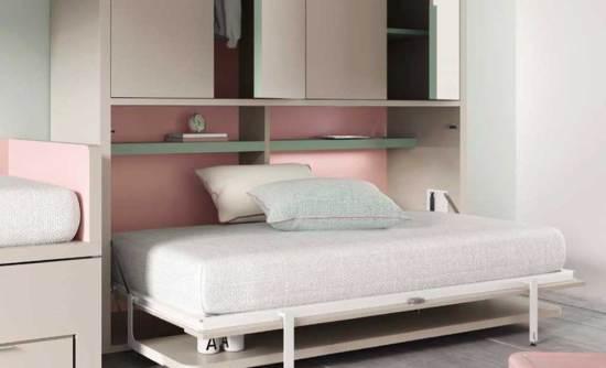 cama-abatible-con-compacto-abierta