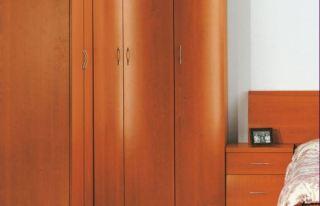 Armario rincon puerta curva clasico