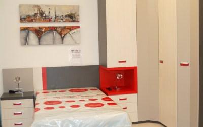 Dormitorio juvenil con armario a rincon
