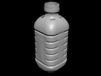 milk bottle scanned