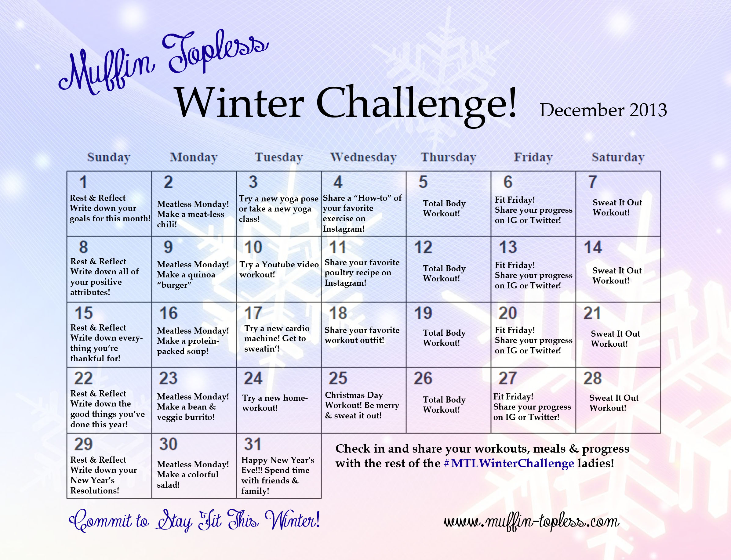 MTL Winter Challenge!