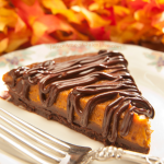 Gluten Free Chocolate Bottomed Pumpkin Tart… absolutely DElicious!