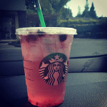 muffinchanel BHR starbucks very berry hibiscus refresher light ice