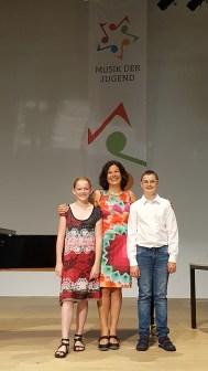 Katharina Hapel und Stefan Heissenberger, 2. Preis Sologesang, AG I