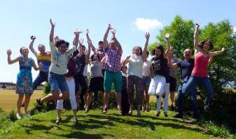 LehrerInnen SS 2016 springend