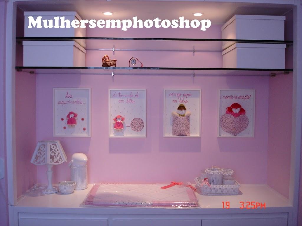 quarto de menina - decoração - quarto rosa - quarto de bebê