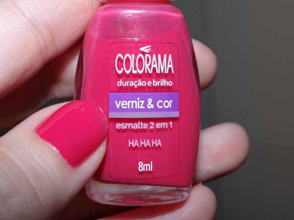 Ha Ha Ha Colorama esmalte rosa