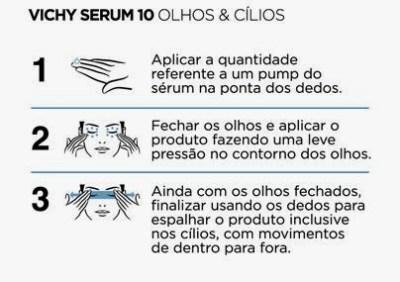 Como usar o Vichy Serum 10 Olhos e Cílios