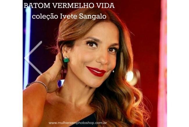 Batom Vermelho de Ivete Sangalo - The Voice Kids