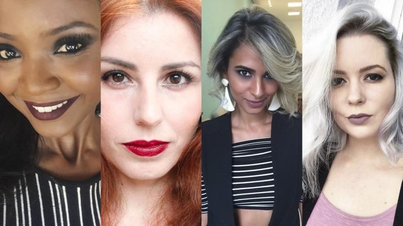 1 batom 4 mulheres - blogueiras