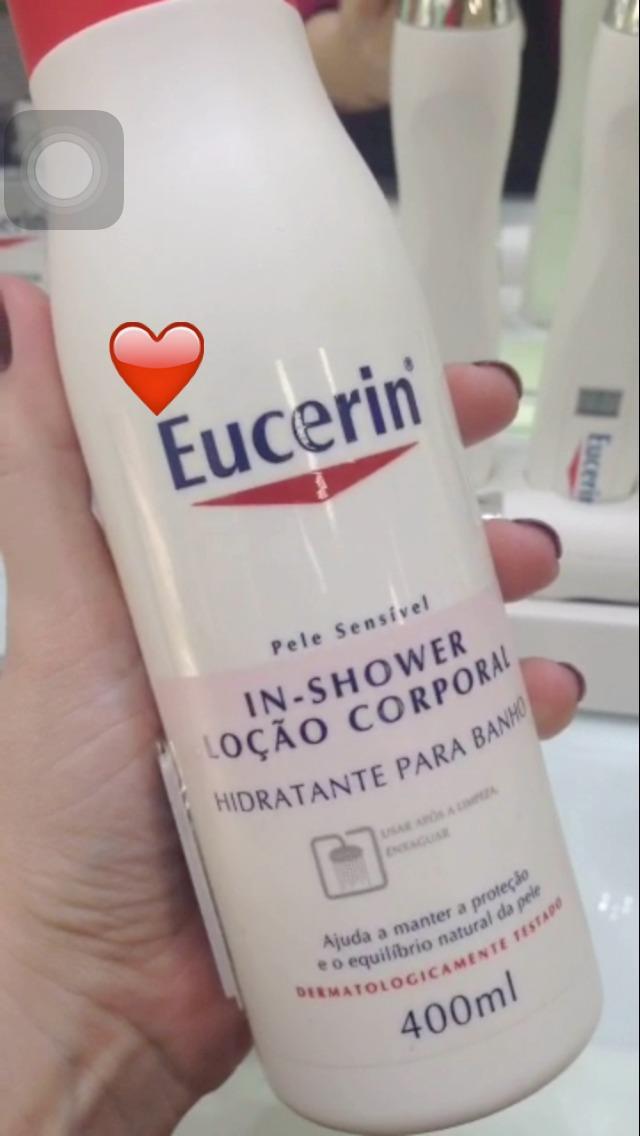 Hidratante de Banho Eucerin