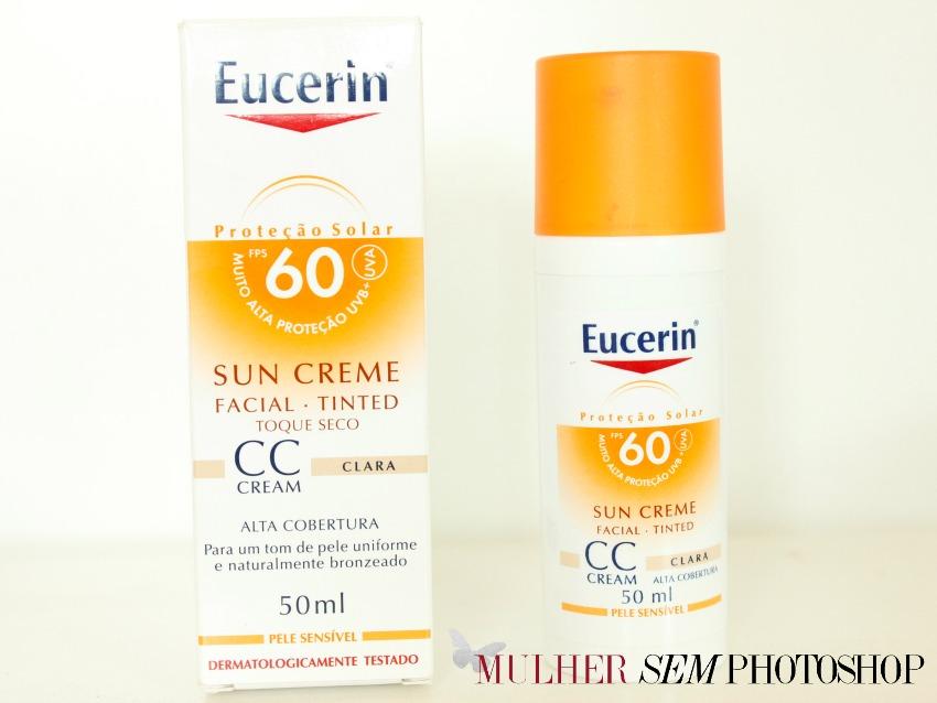 CC Cream Eucerin - Protetor solar com cor