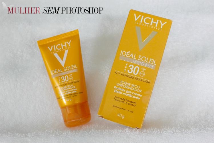Vichy Ideal Soleil Efeito Base resenha